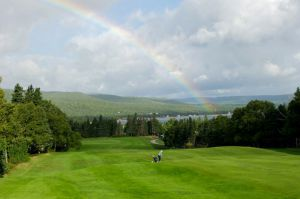 Baddeck's scenic Bell Bay Golf Course
